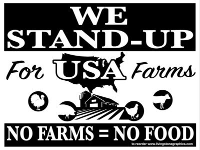 STAND UP for USA -10 signs -