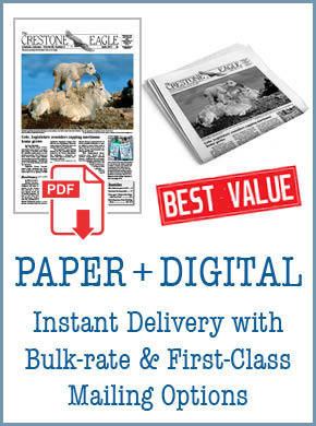 Crestone Eagle News - Annual Paper + Digital Subscription APD