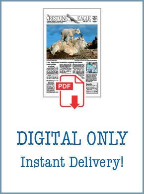Crestone Eagle News - Annual Digital Subscription AP-DigiSub