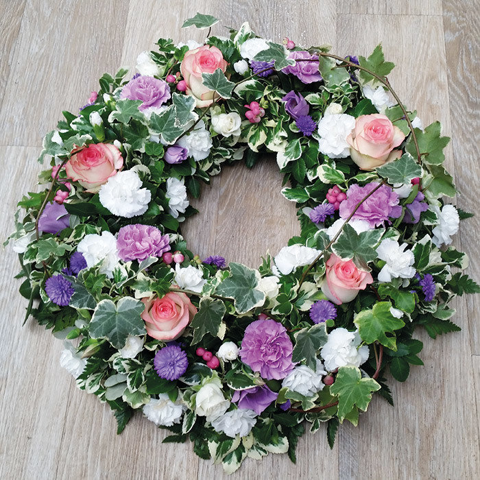 Pink And Pretty Wreath