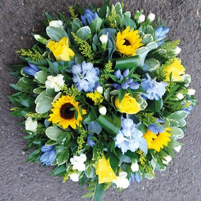Yellow & Blue Posy