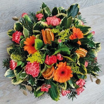 Seasonal Orange Posy