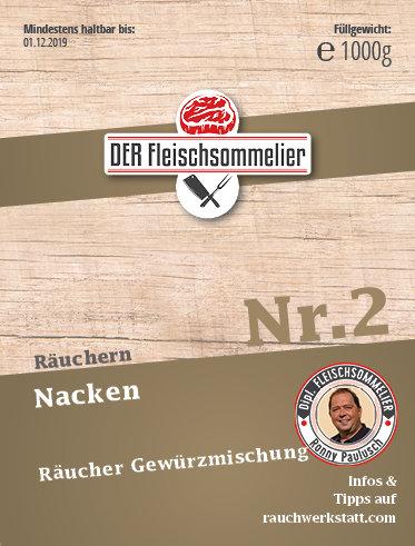 """Räucher- Gewürzmischung Nr. 2 """"Nackenschinken"""""""