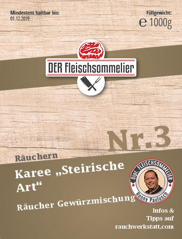 """Räucher- Gewürzmischung Nr. 3 """"Steirisches Karree"""""""