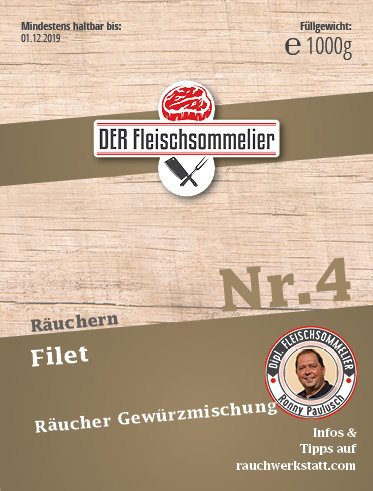 "Räucher- Gewürzmischung Nr. 4 ""Filet"""