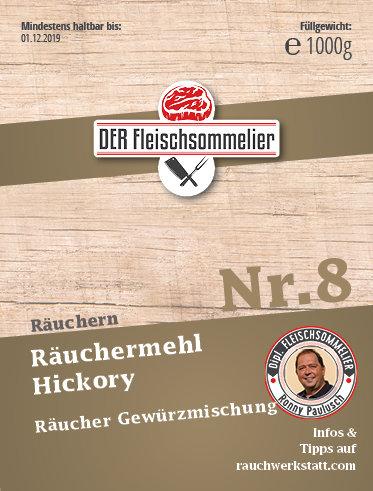 "Räucher- Gewürzmischung Nr. 8 ""Hickory"" Pastrami"
