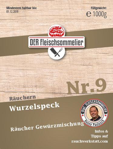 """Räucher- Gewürzmischung Nr. 9 """"Wurzelspeck"""""""