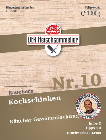 """Räucher- Gewürzmischung Nr. 10 """"Kochschinken"""""""