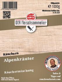 Räucher- Gewürzmischung #13 Alpenkräuter