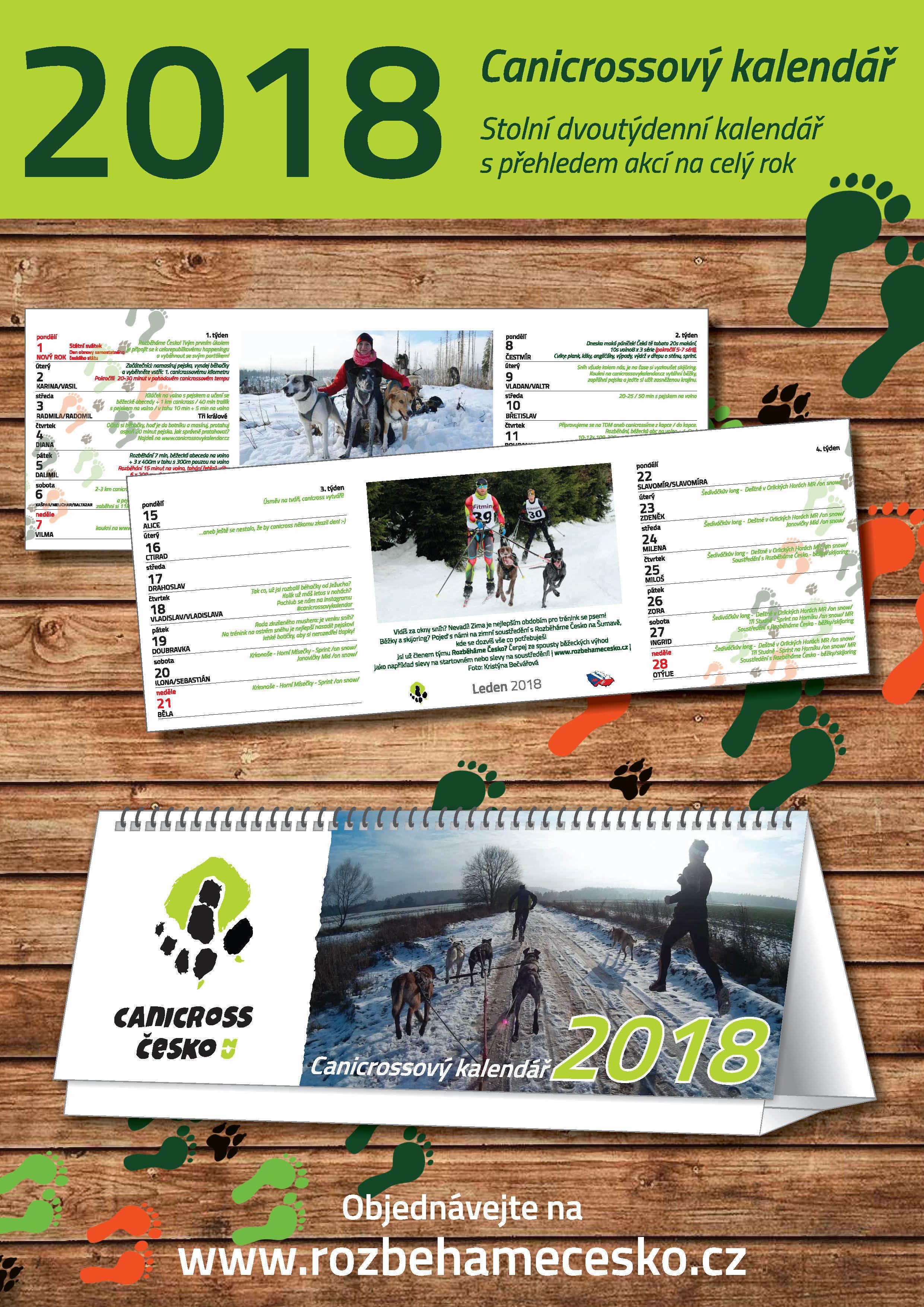 Canicrossový motivační kalendář 2018 00004