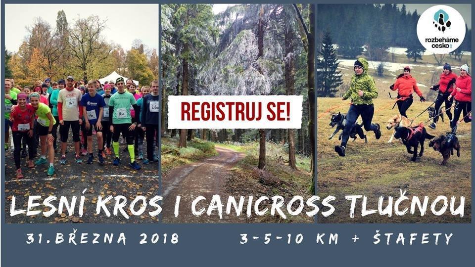 Lesni kros i canicross Tlučnou 31. března 2018 (registrace) 00007