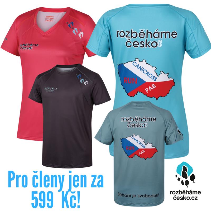 Funkční tričko Rozběháme Česko/Husky 00059