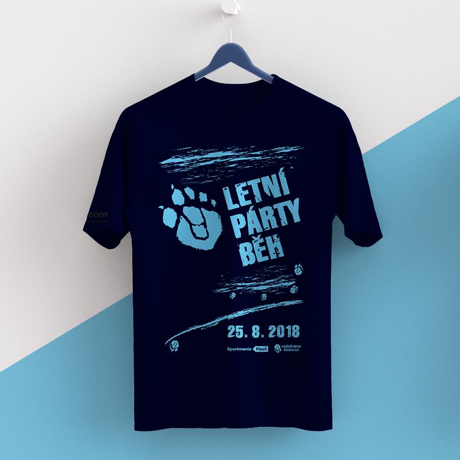 Tričko Letní párty běh 00068