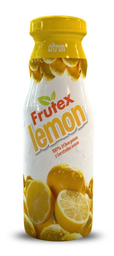 100% šťáva Frutex - citron 200ml 00076
