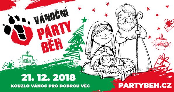 Vánoční charitativní párty běh 00116