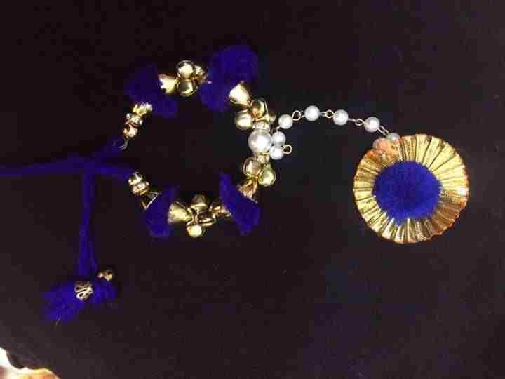 Elegant Hathphool Jewellery