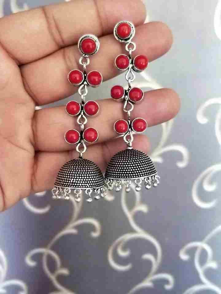 German silver Jhumka 00009