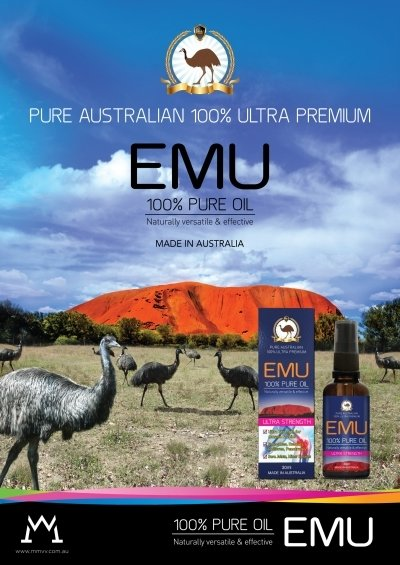 EMU 100% PURE OIL