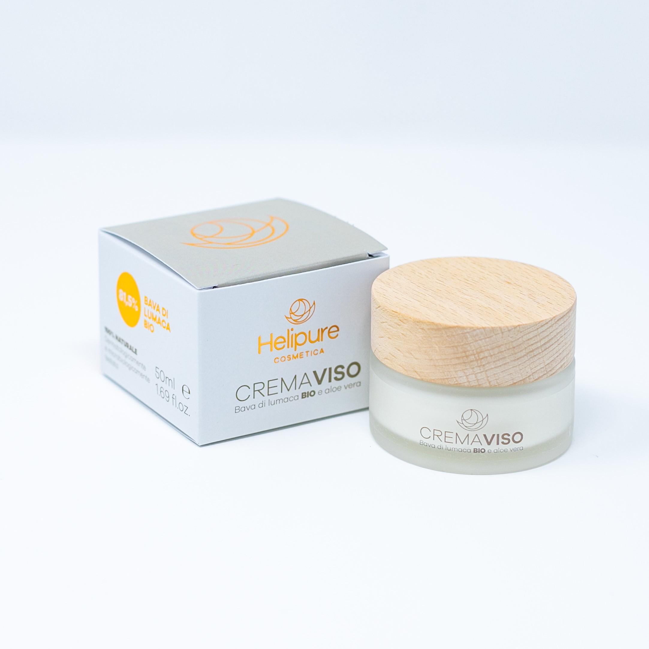 Crema Viso alla Bava di Lumaca 81,5% e Aloe Vera CRV