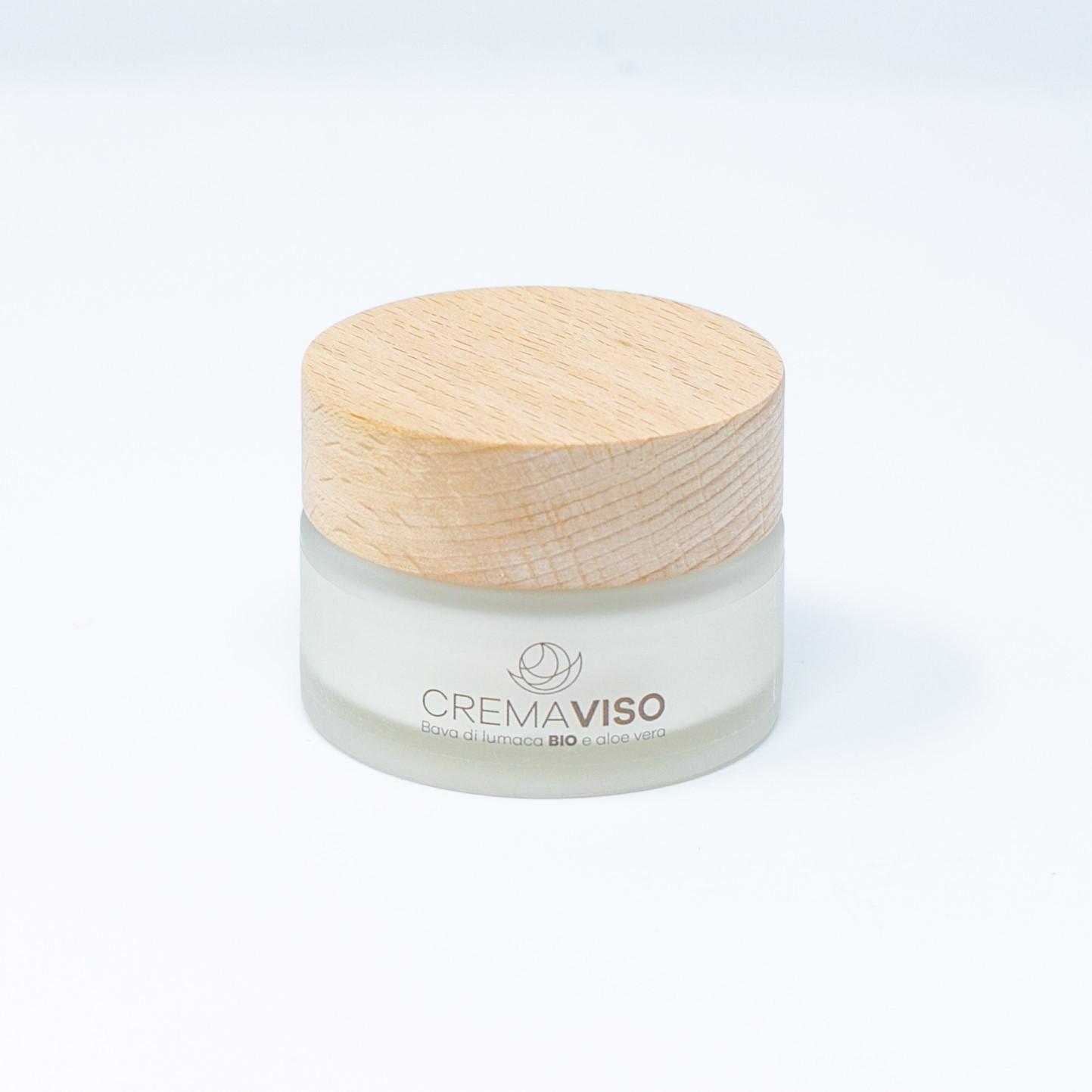 Crema Viso alla Bava di Lumaca 81,5% e Aloe Vera