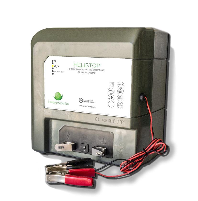 HeliStop - Elettrificatore per rete Spirante Electro H24