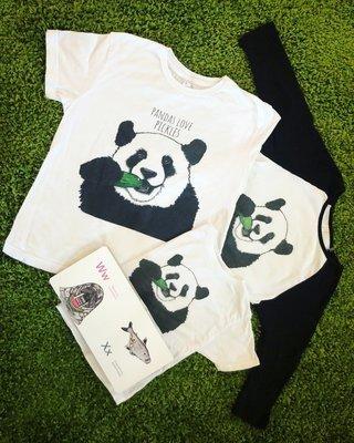 Pandas Love Pickles T-Shirts