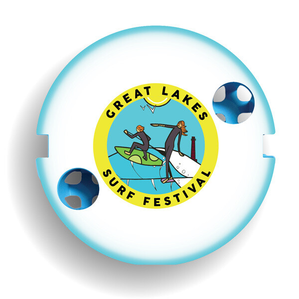 Great Lakes Surf Fest Custom FootStake Table