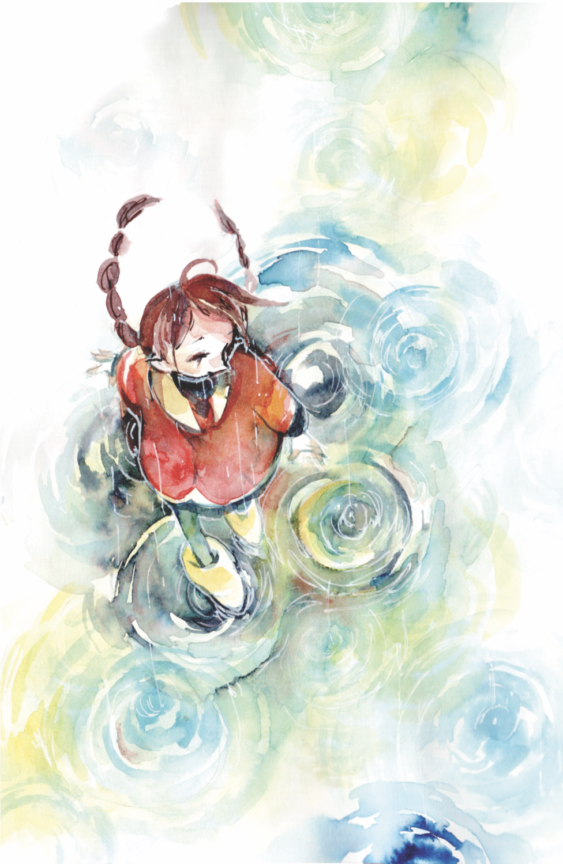 [11x17] Raindrops Print