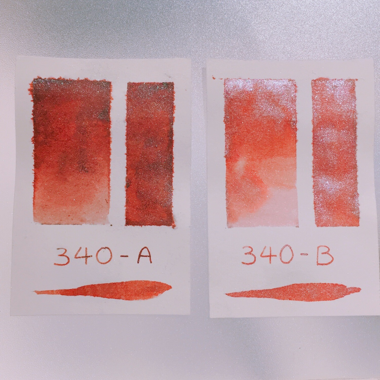 340 A+B Shimmer Ink
