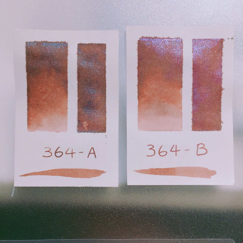 364 A+B Shimmer Ink