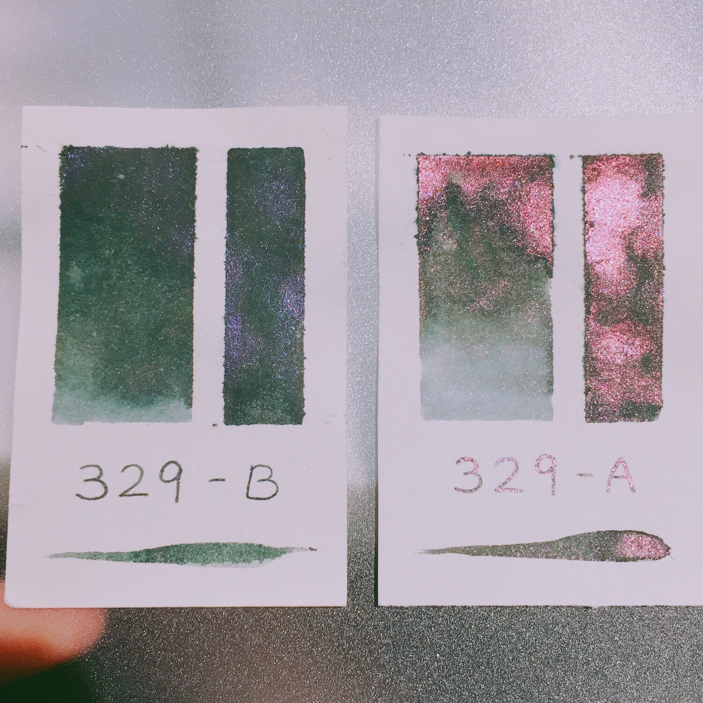 329 A+B Shimmer Ink