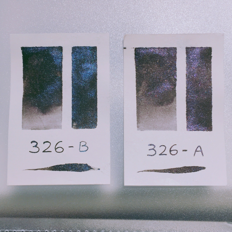 326 A+B Shimmer Ink