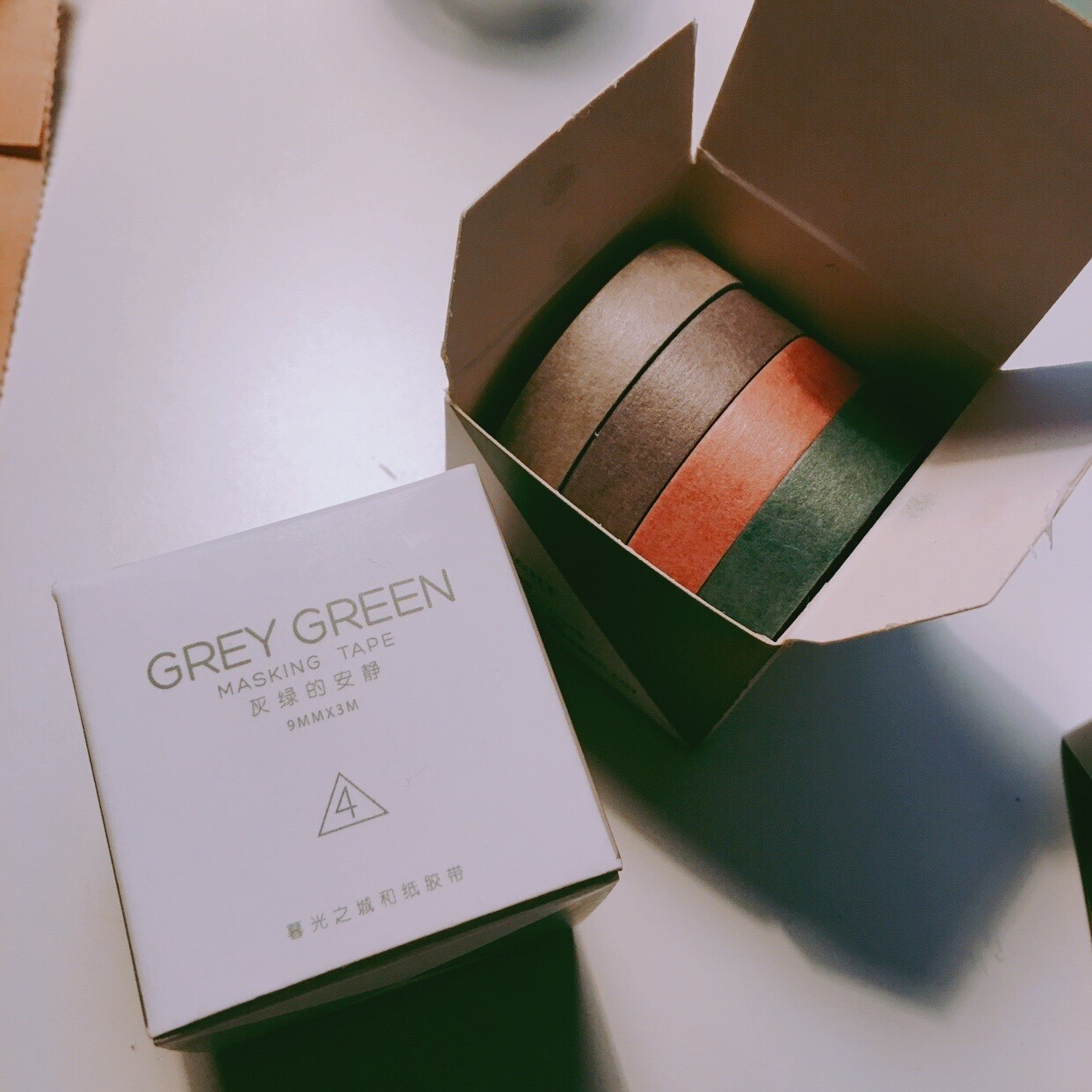 Grey Green Tape Set