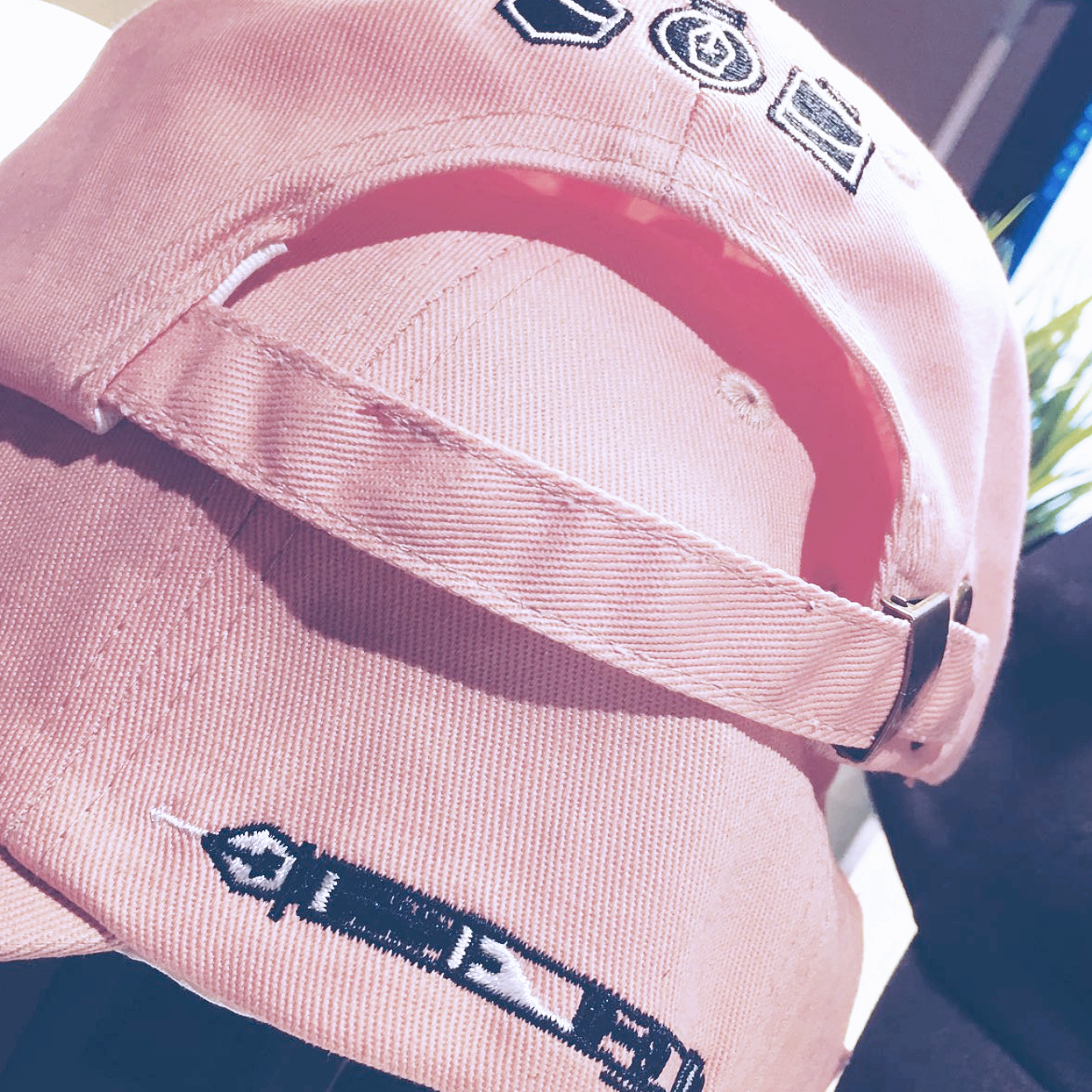 Pen/Ink Pink Baseball Cap
