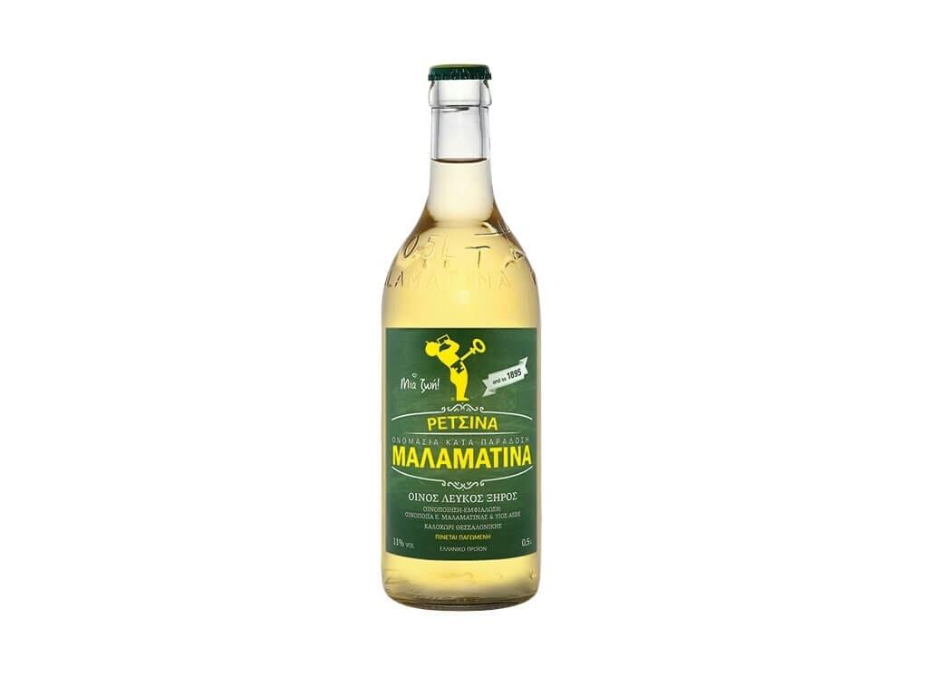 Рецина MALAMATINA, 500 ml