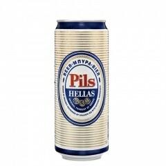 Гръцка бира ΕΖΑ ζ Fine Lager, 0.500l