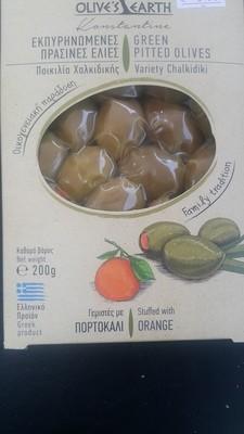 Гръцки натурални пълнени маслин