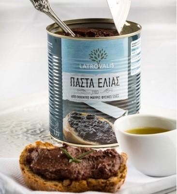 Гръцка маслинова паста от маслини Каламата