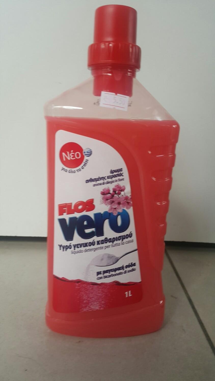 Препарат за под FLOS, със сода, 1л