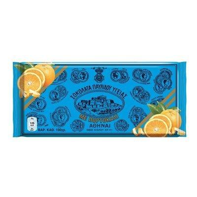 Гръцки черен шоколад с портокал, PAVLIDIS