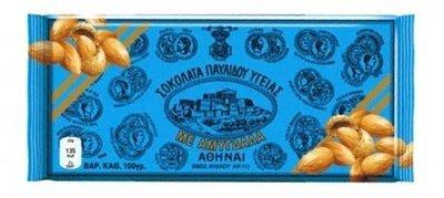 Гръцки черен шоколад с бадеми, PAVLIDIS