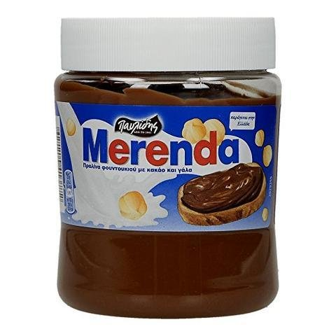 Гръцки течен шоколад с лешници, MERENDA (360 гр)