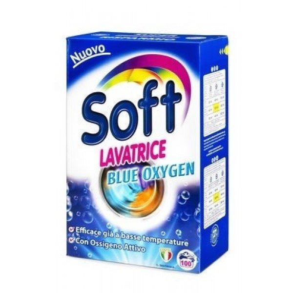 Перилен препарат SOFT Blue Oxygen, прах, универсален, 100 пранета