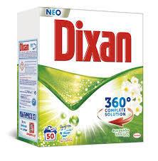 Перилен препарат DIXAN COMPLETE SOLUTION, прах, универсален, 2.750 кг, 50 пранета