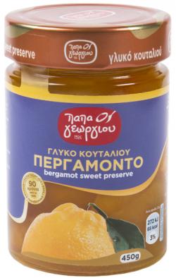 Гръцко сладко от бергамот, 450 гр.