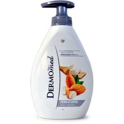 Течен сапун DERMOMED, бадем, 1 литър