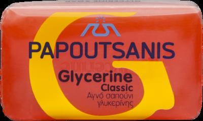 Гръцки сух червен сапун с цлицерин, Papoutsanis, 125 гр