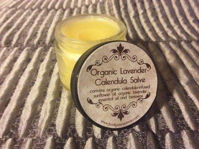 Organic Lavender-Calendula Salve