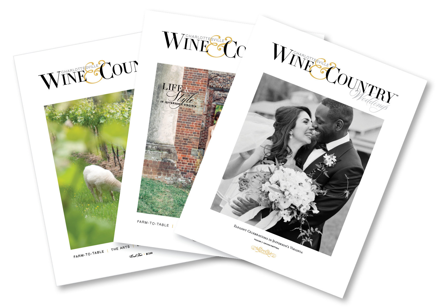 Charlottesville Wine & Country Weddings & Living 2017 | Vol 3, Book 4 & Book 5 00005