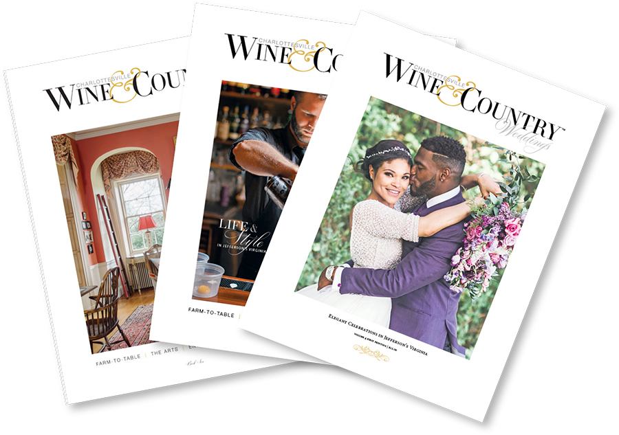 Charlottesville Wine & Country Weddings & Living 2018 | Vol 4, Book 6 & Book 7 00011